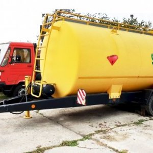 foto 15m3 fuel tank trailer(no docs