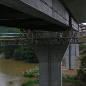 foto bridge footbridge 10m