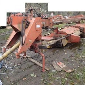 foto 7m mower (4+3m) disc tractor