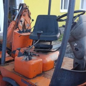 foto 1.9t mini backhoe-loader joint